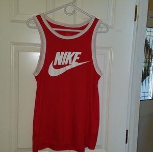Nike Mens Ace logo Tank top